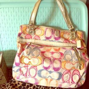 💋Limited Coach hobo bag